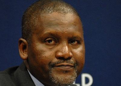 Alhaji Aliko Dangote, self-made business magnate,