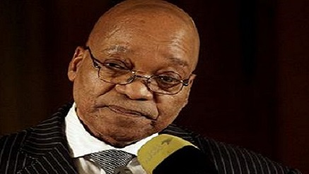 Jacob Zuma, South African president