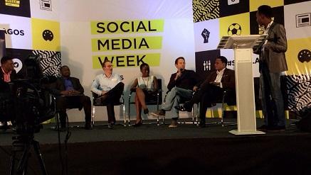 Christian Keller, managing director Carmudi Nigeria and other guests at Social Media Week Lagos.