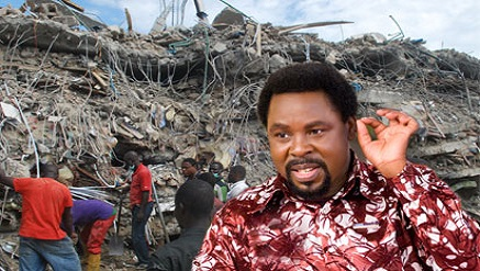 Pastor TB Joshua, founder, Synagogue Church of All Nations (SCOAN)