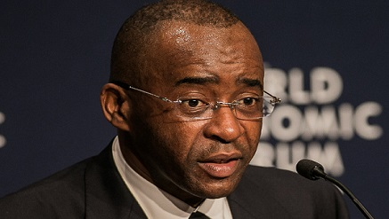 Mr. Strive Masiyiwa, Africa against Ebola Solidarity Trust Board member and chairman of Econet,