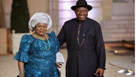 President Goodluck Jonathan and wife