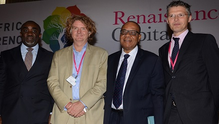 (‎L-r): Kamar Bakrin, partner, Helios Investment Partners, Michiel Buitelaar, managing director, Smile Communications Limited, Cyril Odu, executive partner, Africa Capital Alliance and Charles Robertson, managing director, Renaissance Capital at the 6th Annual Pan-Africa Investor Conference held recently in Lagos.‎