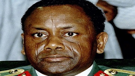 late Gen. Sani Abacha,