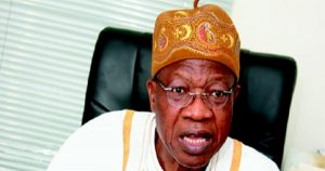 FG Cannot Subsidize Television Forever- Lai Mohammed