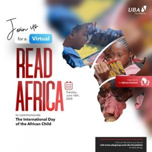 UBA Foundation Commemorates 2020 International Day of the African Child, Donates Books Across Africa