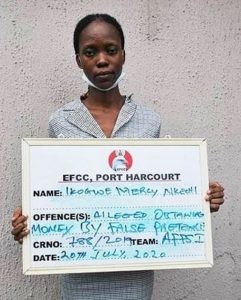 Lady Allegedly Spends N179m Fraud Loot on Sports Betting, Tithe